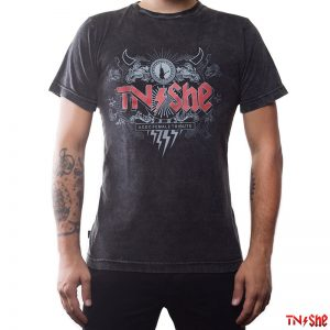 Camiseta Estonada TNϟShe Black Ice